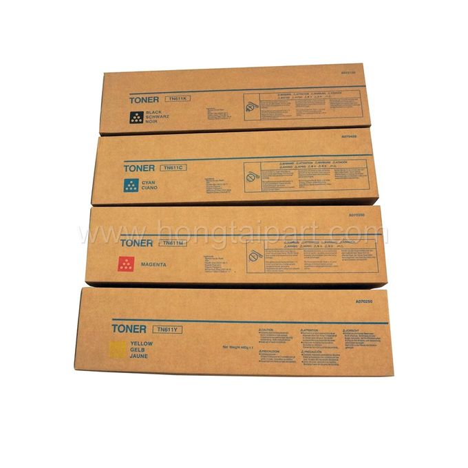 Toner Cartridge for Konica Minolta Bizhub C451 C550 C650 (TN-611 A070130 A070230 A070330 A070430)
